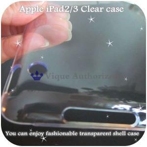 iPad2/iPad3ケースカバー透明クリアハードケースCLEAR CASE-iPad3(アイパッド2、アイパッド3世代)|venus-hk|05