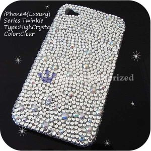iPhone3G/3GSカバー 豪華スワロフスキーゴージャスデコ電 HIGHCRYSTAL-LUX-3G|venus-hk