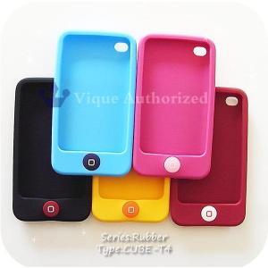 iPodtouch4ケースカバー ラバータイプCUBE-T4【iPodtouchアイポッドタッチ第4世代専用】|venus-hk