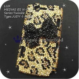 AQUOS PHONE Xx 106SHケースカバー 豪華スワロフスキーデコ電JUDY-LUX-106SH|venus-hk