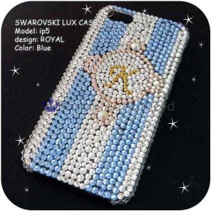 iPhone5/5S/5C ケースカバー 豪華スワロフスキーゴージャスデコ電ROYAL-LUX-IP5 venus-hk