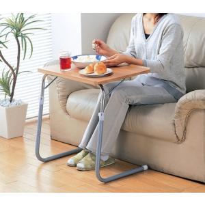 角度調節付き折りたたみテーブル|venusclub