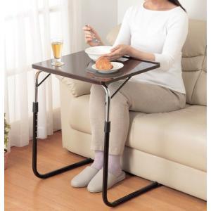 角度調節付き折りたたみテーブル(鏡面仕上げ)|venusclub