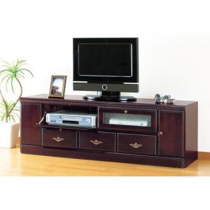 アンティーク調フラップテレビボード136cm幅       テレビ台 TVボード|venusclub