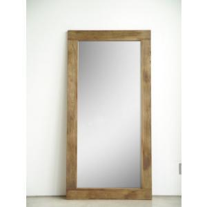 MOSH   アンティークジャンボミラー(90cm×180cm)    スタンドミラー 全身鏡|venusclub