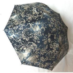 日本製晴雨兼用傘 折りたたみ傘 晴雨兼用 UVケア加工 綿柿渋染めブラック venusclub
