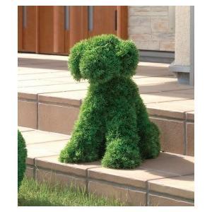 人工植物 動物トピアリー45cm イヌS|venusclub