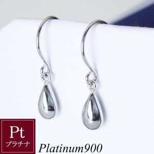 プラチナ 揺れる ピアス Sizuku 雫  3営業日前後の発送予定|venusjewelry