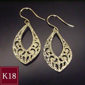 選べる18金 揺れるピアス K18WG K18 3営業日前後の発送予定|venusjewelry