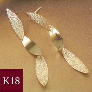 18金ゴールド 揺れるピアス 3営業日前後の発送予定|venusjewelry