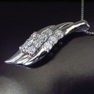 ダイヤモンド プラチナ ネックレス 妻 彼女 計0.5カラット 3営業日前後の発送予定|venusjewelry|02