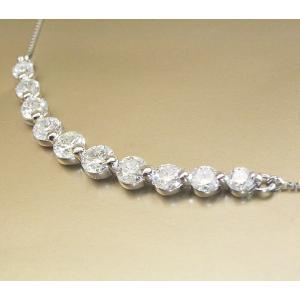 ダイヤモンド ネックレス 妻 彼女 プラチナ 計1カラット 3営業日前後の発送予定|venusjewelry|04
