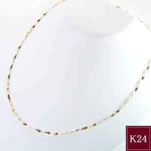 新作 超レア 純金K24 デザインネックレス アクセサリー 3営業日前後の発送予定|venusjewelry