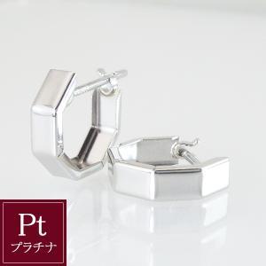 プラチナ フープ ピアス 3営業日前後の発送予定|venusjewelry