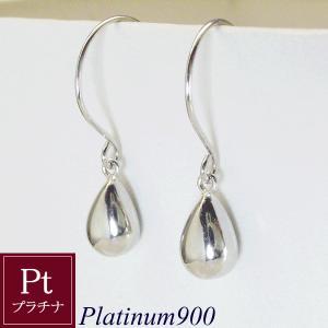 プラチナ ピアス(大) Pt 雫 Sizuku 3営業日前後の発送予定|venusjewelry