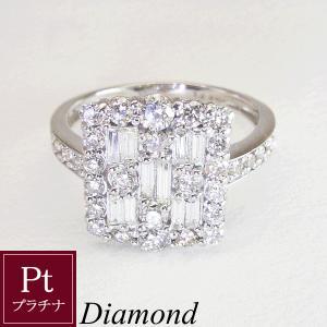 鑑別書付 1カラット プラチナ ダイヤモンド リング 指輪 ※オーダーメイドにつき、ご注文日より3週間前後の発送|venusjewelry