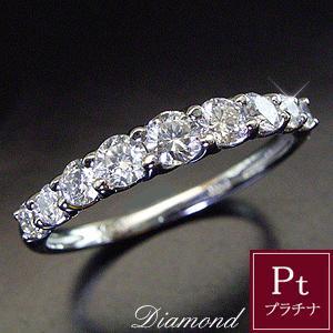天然 ダイヤモンド リング プラチナ エタニティリング 指輪 0.5カラット ご注文日より3週間前後の発送予定|venusjewelry