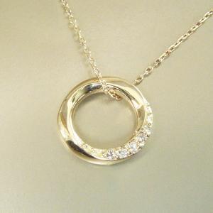 ダイヤモンド ネックレス K18 3営業日前後の発送予定|venusjewelry|02
