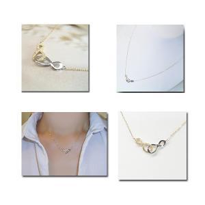 プラチナ 18金 ダイヤモンド ネックレス 妻 彼女 venus インフィニティ 無限大∞ プラチナ 18金ネックレス 3営業日前後の発送予定|venusjewelry|02