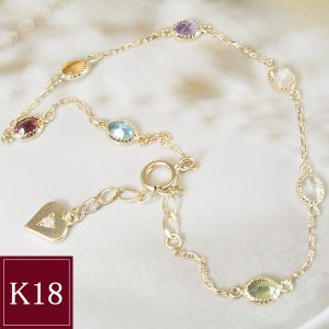 K18 ステーション ブレスレット 3営業日前後の発送予定|venusjewelry