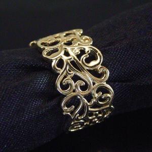 K18 リング アラベスク模様(L) 3営業日前後の発送予定|venusjewelry|02