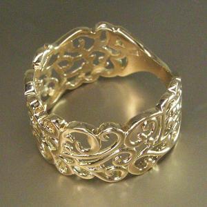 K18 リング アラベスク模様(L) 3営業日前後の発送予定|venusjewelry|03