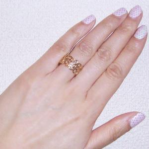 K18 リング アラベスク模様(L) 3営業日前後の発送予定|venusjewelry|04