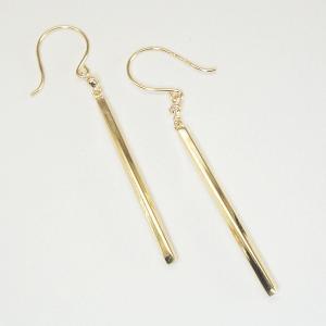 K18ゴールド バーピアス ダイヤモンドピアス 3営業日前後の発送予定|venusjewelry|03