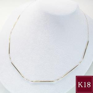 K18ゴールド バーネックレス 18金ネックレス 10月13日前後の発送予定 venusjewelry