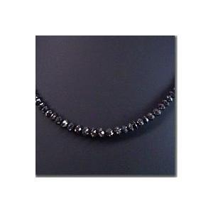 ダイヤモンドネックレス K18WG 計50カラット ブラックダイヤ 3営業日前後の発送予定 venusjewelry 04