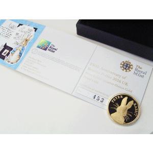 ピーターラビット 純金貨 ピーターラビットの作者 ビアトリクス・ポター 生誕150周年記念 純金コイン K24 世界500枚限定 5営業日前後の発送予定|venusjewelry|04