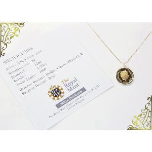 2018年限定品 純金貨(1/30oz) ドッグ×エリザベス女王ネックレス 世界1000枚限定 ネックレス 妻 彼女 3営業日前後の発送予定|venusjewelry|04