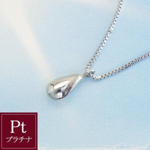 プラチナネックレス Pt 雫 Sizuku 3営業日前後の発送予定|venusjewelry