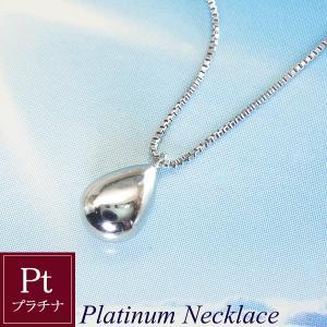 プラチナネックレス(大) Pt 雫 Sizuku 3営業日前後の発送予定|venusjewelry