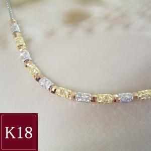 K18 K18PG K18WG 3色ネックレス 3営業日前後の発送予定|venusjewelry