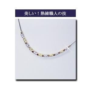 K18 K18PG K18WG 3色ネックレス 3営業日前後の発送予定|venusjewelry|05