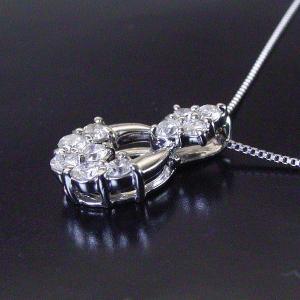 プラチナ ダイヤモンド ネックレス 計0.5カラット ネックレス 妻 彼女 10石ダイヤ ペンダント 3営業日前後の発送予定 venusjewelry 02