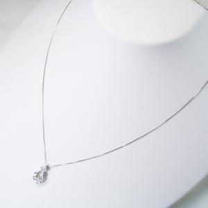 プラチナ ダイヤモンド ネックレス 計0.5カラット ネックレス 妻 彼女 10石ダイヤ ペンダント 3営業日前後の発送予定 venusjewelry 04