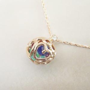 K18PG アミュレット ダイヤモンドネックレス クリスマスプレゼント ジュエリー|venusjewelry|03