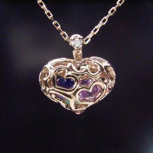 K18PG アミュレット ダイヤモンドネックレス クリスマスプレゼント ジュエリー|venusjewelry|05
