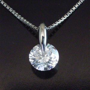 鑑定書付き プラチナ 0.5カラット 最上級 Dカラー ダイヤモンド ネックレス 3営業日前後の発送予定|venusjewelry|02
