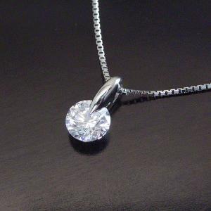 鑑定書付き プラチナ 0.5カラット 最上級 Dカラー ダイヤモンド ネックレス 3営業日前後の発送予定|venusjewelry|04