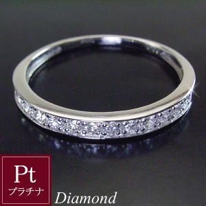 プラチナ 天然 ダイヤモンド リング エタニティ ダイヤモンドリング 指輪 3営業日前後の発送予定|venusjewelry