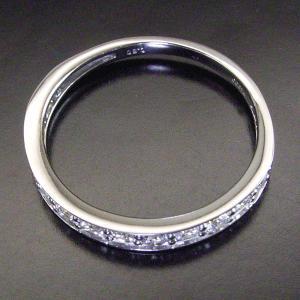 0.5カラット プラチナ ダイヤモンド リング エタニティ ダイヤモンドリング 指輪 3営業日前後の発送予定|venusjewelry|04