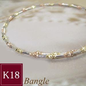 K18 バングル 選べるカラー 3営業日前後の発送予定|venusjewelry