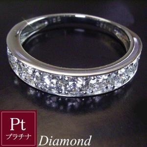 1カラット プラチナ ダイヤモンド リング エタニティ ダイヤモンドリング 指輪 3営業日前後の発送予定|venusjewelry