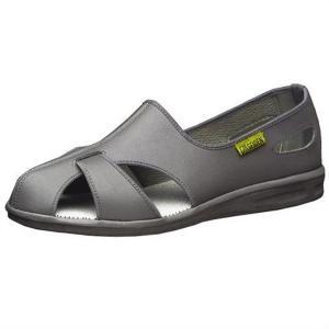 メンズ 静電作業靴 エレパスクールN 大 グレイ ナースシューズ 大きいサイズ 蒸れない 通気構造 医療 衛生 靴|verdexcel-medical