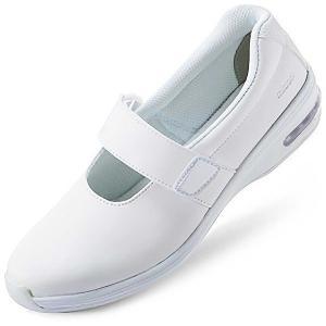 音鳴りしにくい通気性ナースケアセフティ CSS-502Si ホワイト 医療 衛生 メディカル 靴 疲れにくい verdexcel-medical