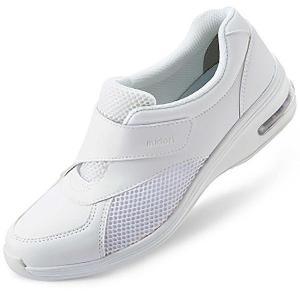 音鳴りしにくい通気性ナースケアセフティ CSS-503Si ホワイト 医療 衛生 メディカル 靴 疲れにくい verdexcel-medical