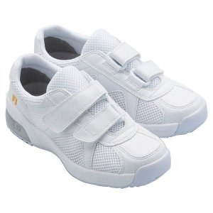 通気性ナースシューズ メンズ レディース メディカル エレパス CSS-306N 静電 ホワイト 蒸れない 軽量 医療 衛生 靴 疲れにくい|verdexcel-medical